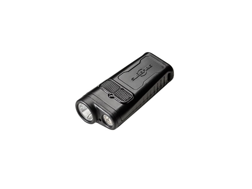 Surefire DBR Guardian Dual Beam Rechargeable Flashlight with Li-Ion Battery Polymer Black