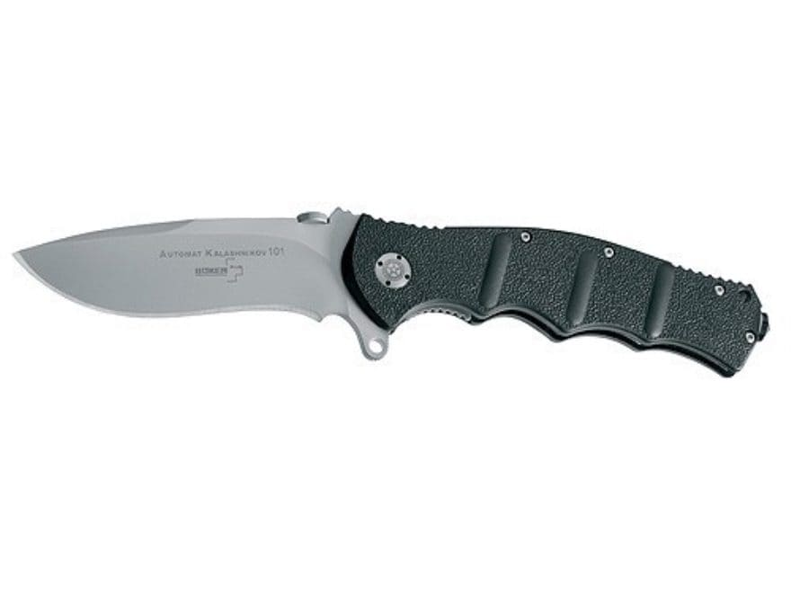 "Boker Plus Kalashnikov Folding Pocket Knife 4"" Drop Point 440C Stainless Steel Blade FR..."