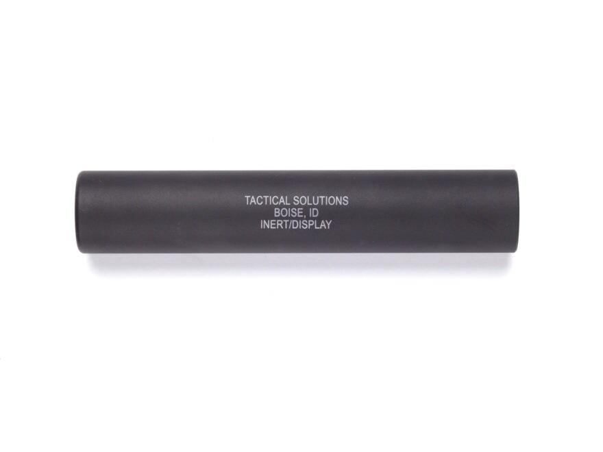 "Tactical Solutions Inert Display Suppressor 1/2""28 Threaded Aluminum Matte"