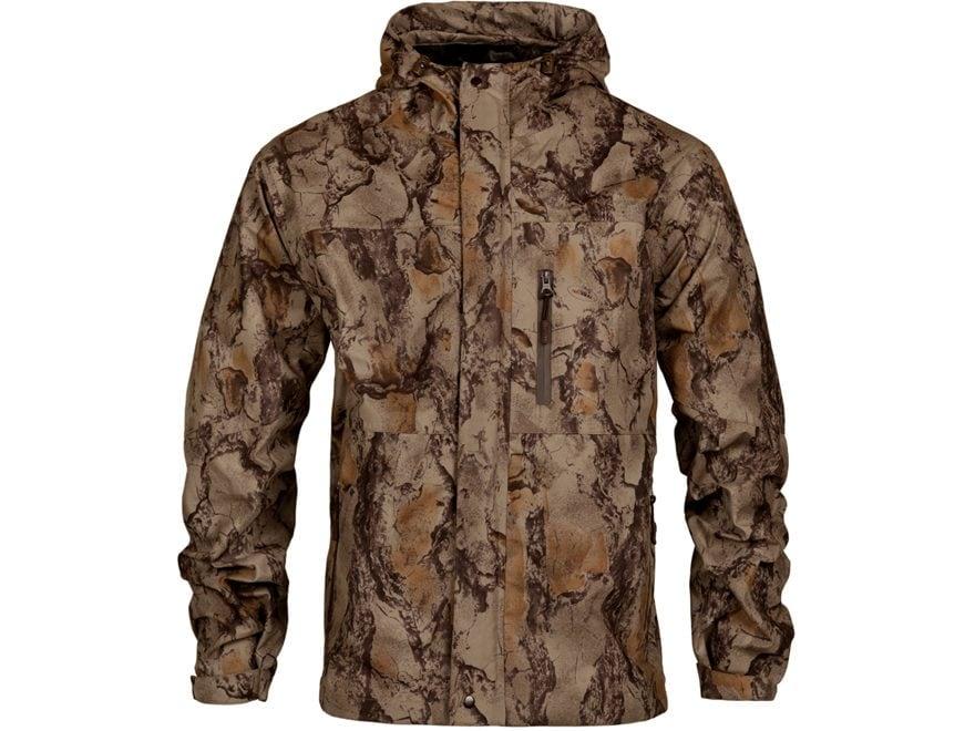Natural Gear Men's Cut Down Rain Shell Jacket Polyester