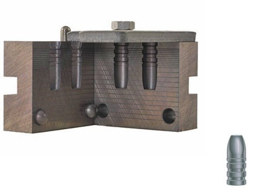 RCBS 2-Cavity Cowboy Bullet Mold 30-150-CM 30 Caliber (309 Diameter) 150 Grain Flat Nose