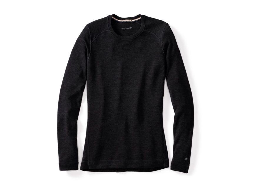 Smartwool Women's NTS Mid 250 Crew Base Layer Shirt Long Sleeve Merino Wool