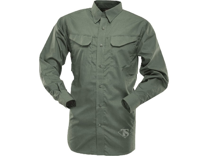 Tru-Spec Men's 24-7 Ultralight Field Shirt Long Sleeve Polyester Cotton Ripstop