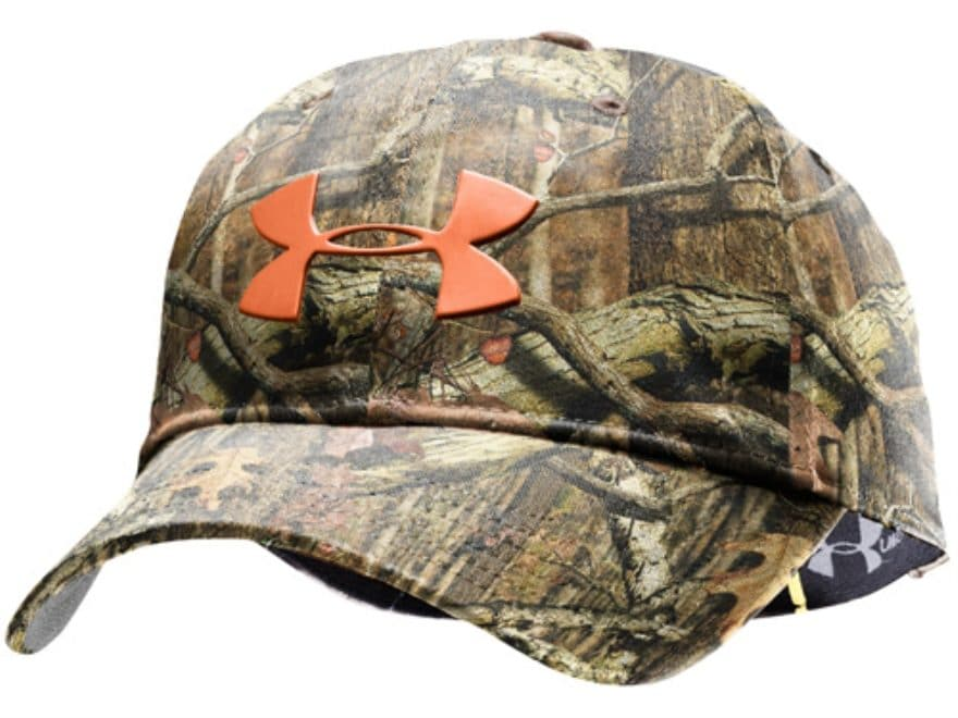 4e8d736d5a5 ... shopping under armour solid tgo strech fit cap polyester mossy oak  break up infinity camo large