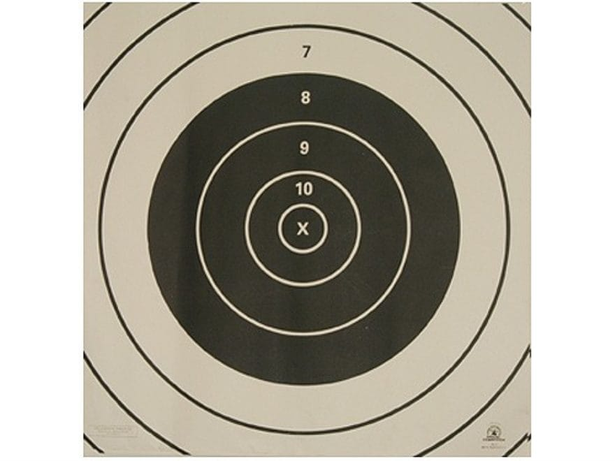 NRA Official High Power Rifle Targets Repair Center SR-3C 300 Yard Rapid Fire Paper Pac...