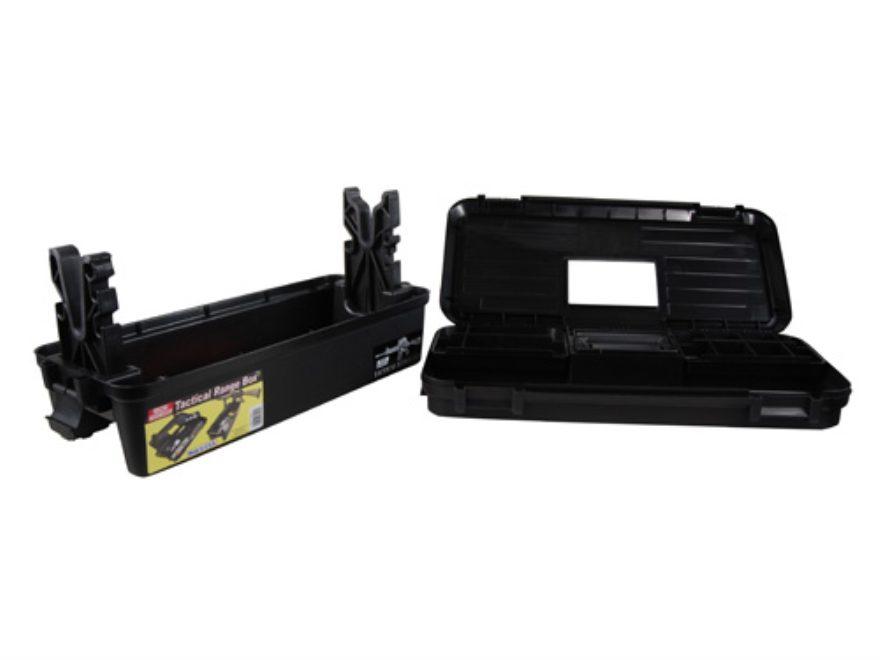 MTM Tactical Range Box Plastic Black