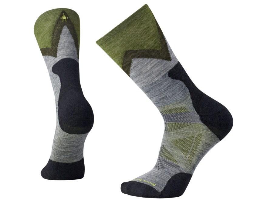 Smartwool Men's PhD Outdoor Approach Crew Socks Merino Wool/Nylon