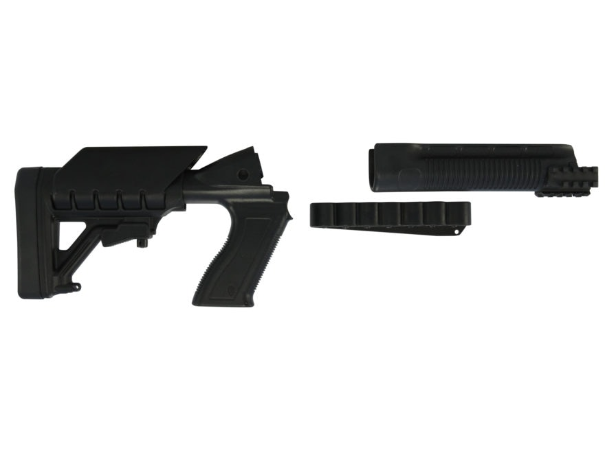 Archangel 500SC Tactical Shotgun Stock System Mossberg 500, 590 with Receiver Mount She...
