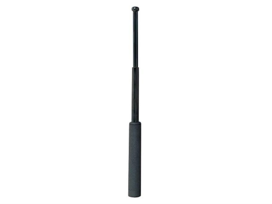"""ASP Friction Loc Baton 21"""" Expandable 4140 Steel Shaft Black Chrome Finish Wavemaster G..."""