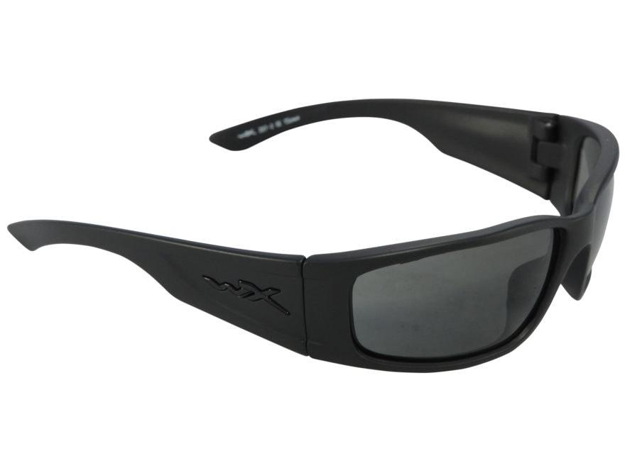 c442536aeb Wiley X Black Ops Zak Sunglasses Smoke Gray Lens. Alternate Image