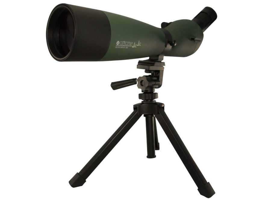 Konus Spotting Scope 20-60x 80mm with Tripod & Smart Phone Adapter