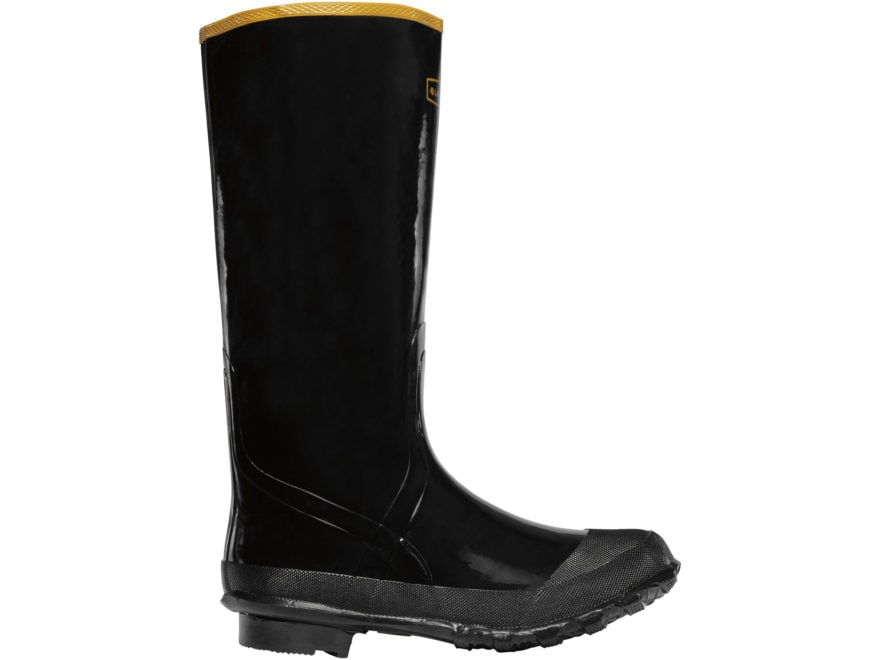 "LaCrosse Economy 16"" Knee Boots Rubber Black Men's"