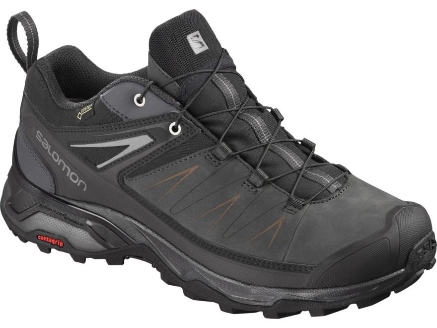 """Salomon X Ultra 3 LTR GTX 4"""" Hiking Shoes Leather/Synthetic Men's"""