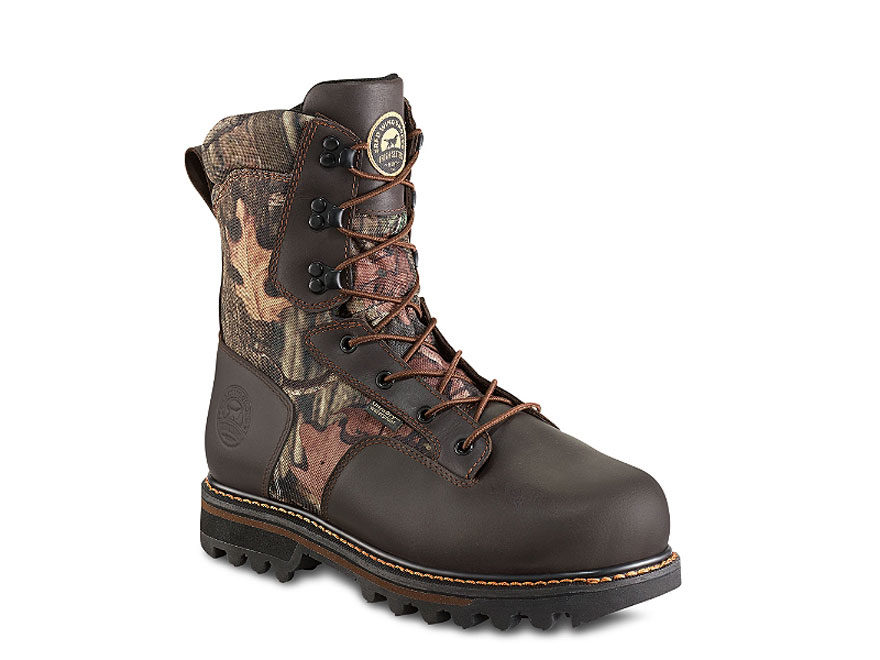 "Irish Setter Gunflint II 10"" Hunting Boots Leather and Nylon Mossy Oak Break-Up Infinit..."