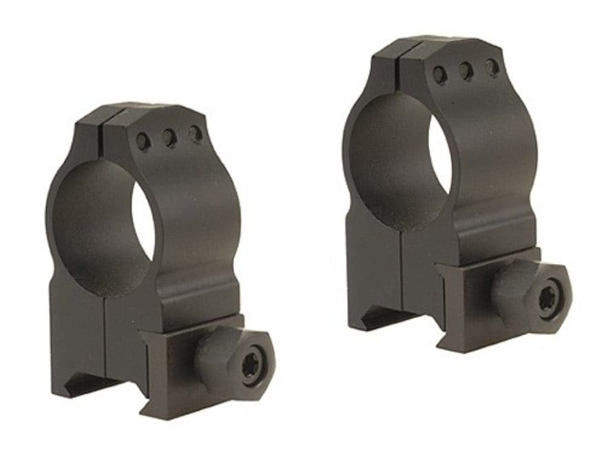 "Warne 1"" Tactical Picatinny-Style Rings Matte"