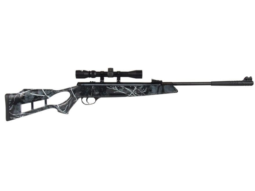 Hatsan Edge Combo Break Action Air Rifle Pellet Synthetic Stock Black Barrel with 3-9x3...