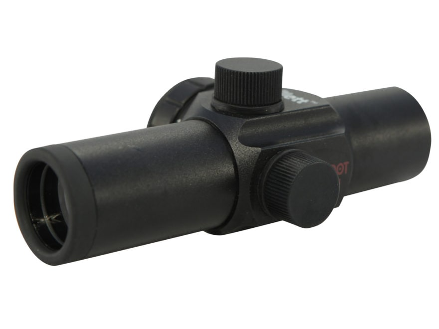 """Millett Compact Red Dot Sight 1"""" Tube 1x 3 MOA Dot with Weaver-Style Rings Matte"""