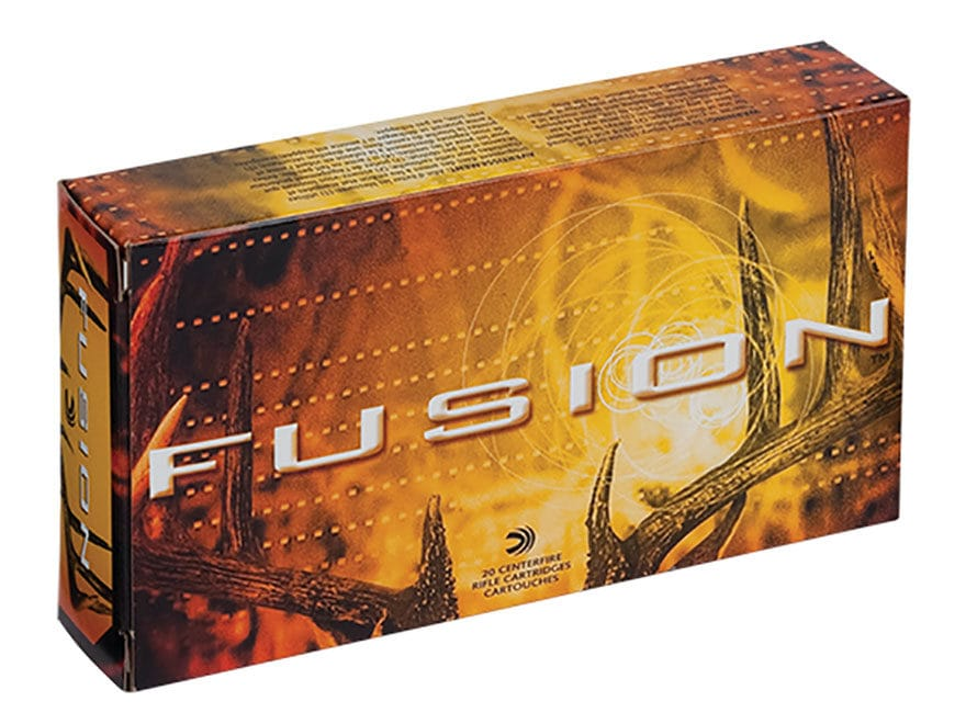 Federal Fusion Ammunition 6.5 Creedmoor 140 Grain Spitzer Boat Tail