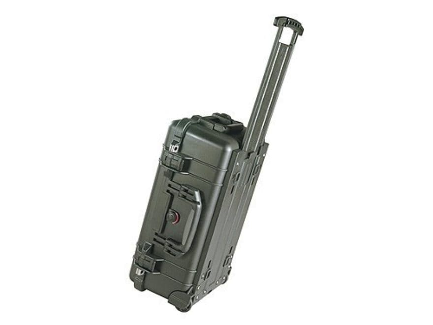 "Pelican 1510 Carry On Case with Pre-Scored Foam Insert and Wheels 22"" x 13-3/4"" x 9"" Po..."
