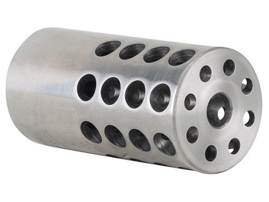 "Vais Muzzle Brake 1"" 270 Caliber 11/16""-24 Thread 1"" Outside Diameter x 2"" Length Stain..."