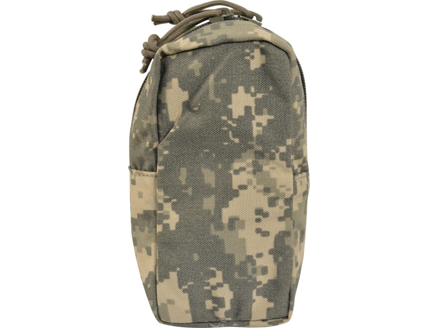 Military Surplus MOLLE II Zippered Utility Pouch ACU Camo