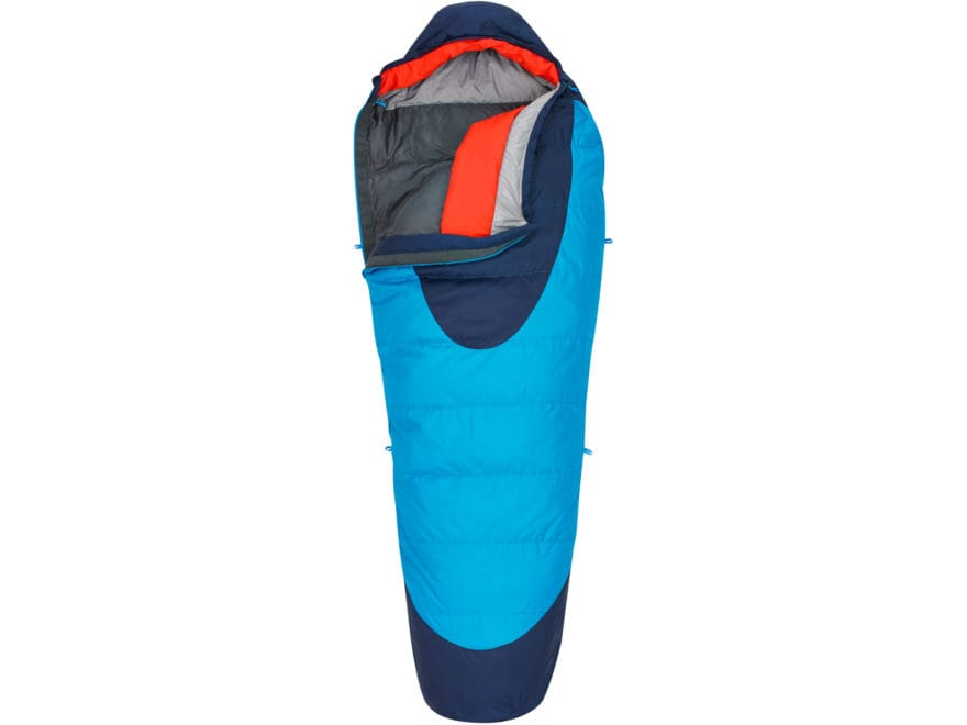 Kelty Cosmic 20 Degree Sleeping Bag Polyester Paradise Blue