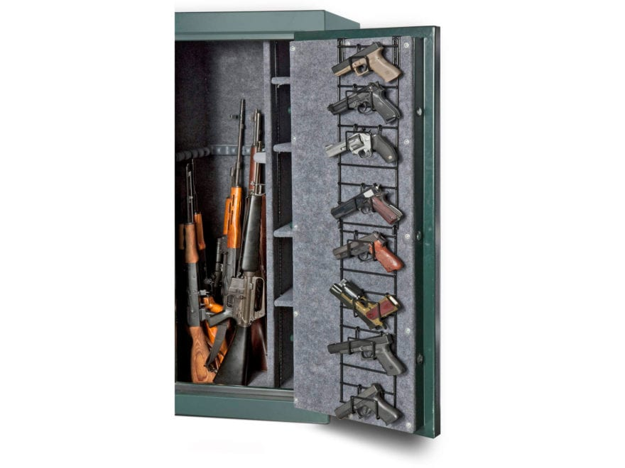 Rack'Em Racks The Maximizer Narrow Full Door 8 Pistol Rack Black