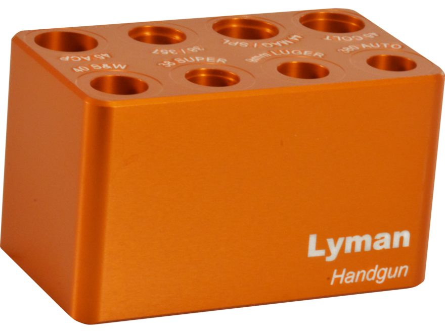 Lyman Multi-Caliber Handgun Ammo Checker Cartridge Gauge 380 ACP, 9mm Luger, 38 Super, ...