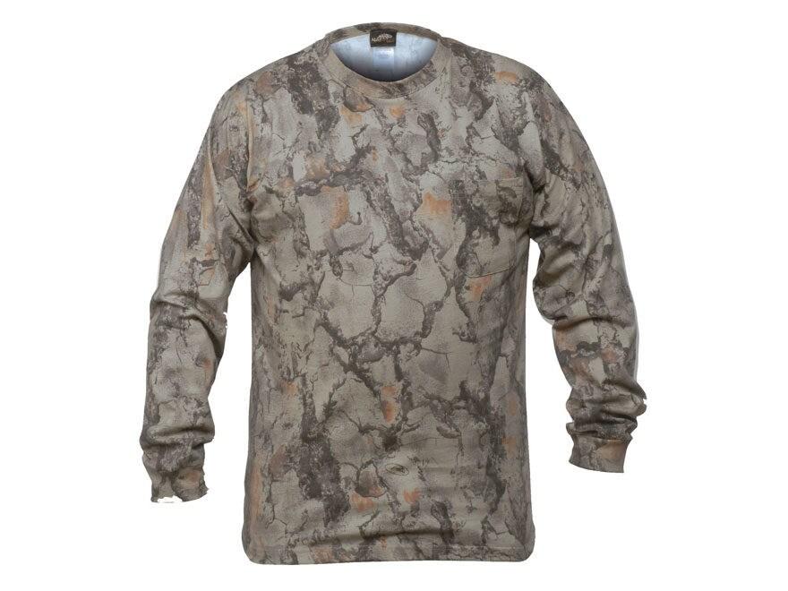 ea143ae4 Natural Gear Men's Long Sleeve T-Shirt Cotton/Poly Natural Gear