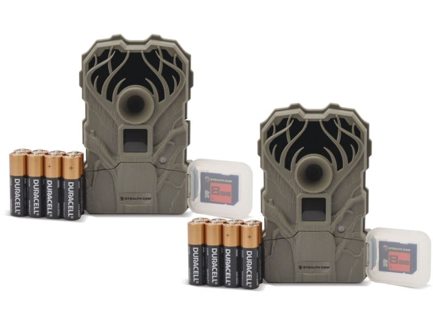 Stealth Cam QS12ATK Trail Camera 12 MP Combo Pack of 2