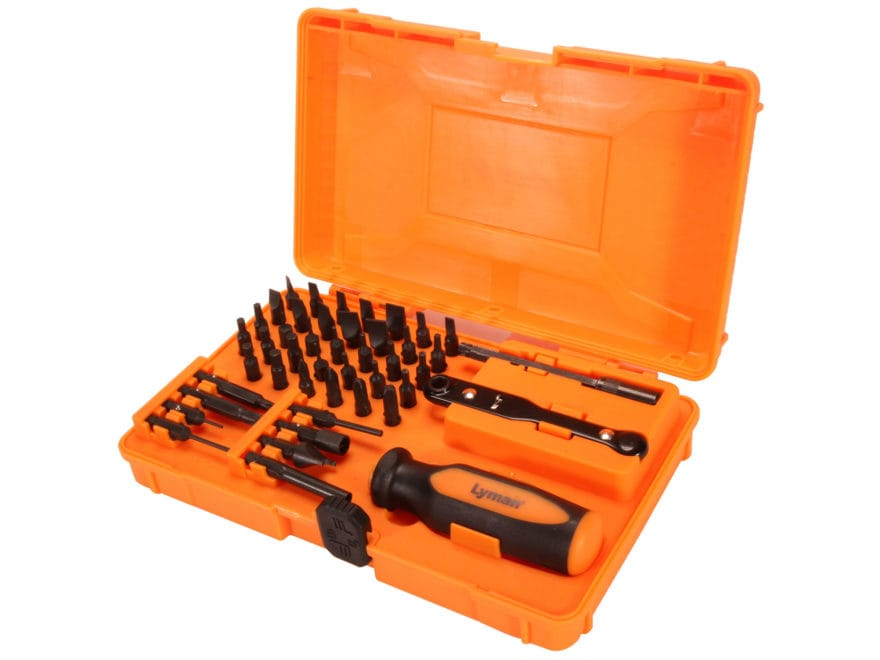 Lyman 45-Piece Master Gunsmith Screwdriver Set