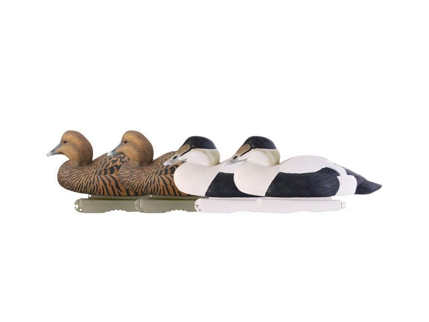GHG Commercial Grade Foam Filled Eider Duck Decoy Pack of 4