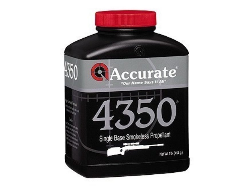 Accurate 4350 Smokeless Gun Powder