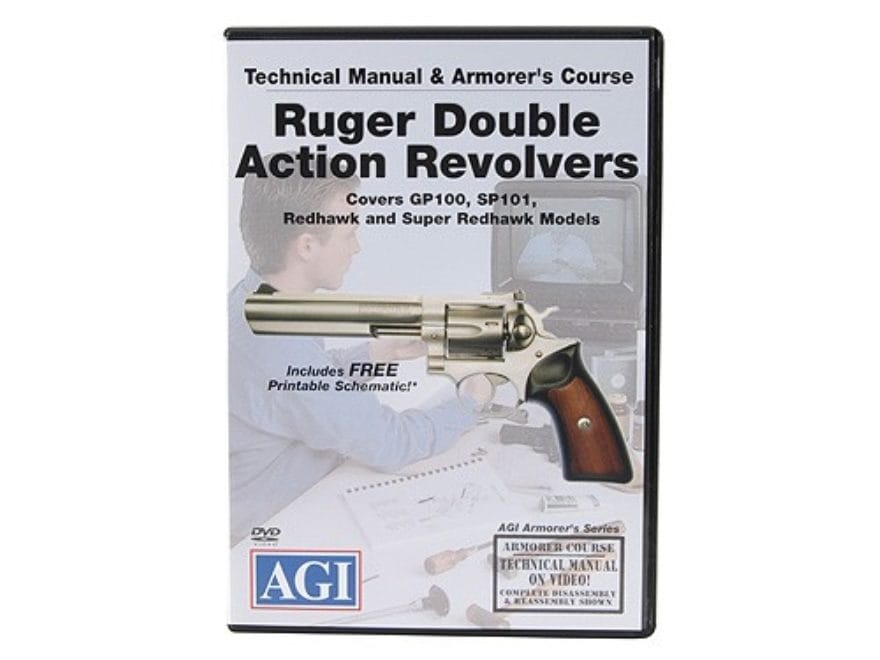 """American Gunsmithing Institute (AGI) Technical Manual & Armorer's Course Video """"Ruger D..."""