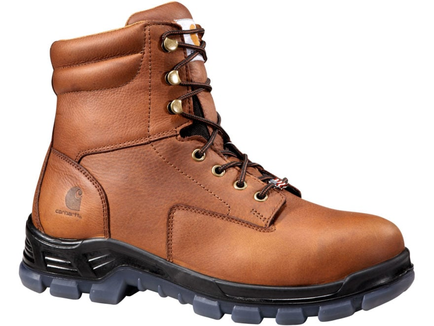 "Carhartt 8"" Waterproof Composite Safety Toe Work Boots Leather Men's"