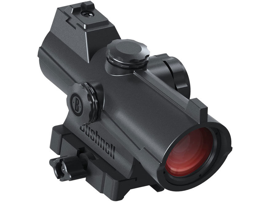 Bushnell AR Optics Incinerate Red Dot Sight 1x 25 MOA Circle with 2 MOA Dot Hi-Rise Pic...