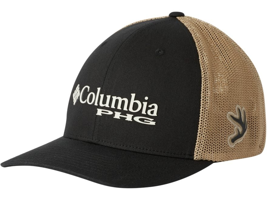 1cd3bb51ae374 Columbia PHG Patch Mesh Back Fitted Cap Flax Large XL