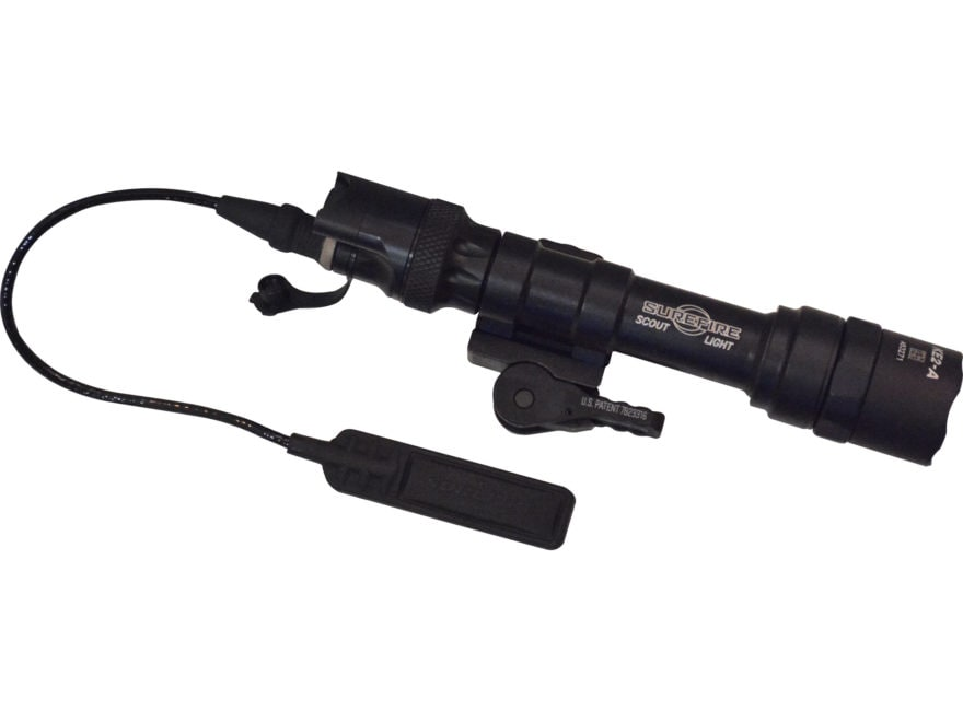 Surefire M600 Ultra Scout Light Weapon Light LED with ADM Mount with 2 CR123A Batteries...