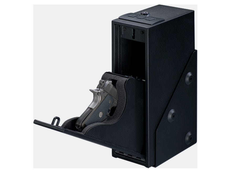 Stack-On Quick Access Handgun Safe with Electronic Lock Black