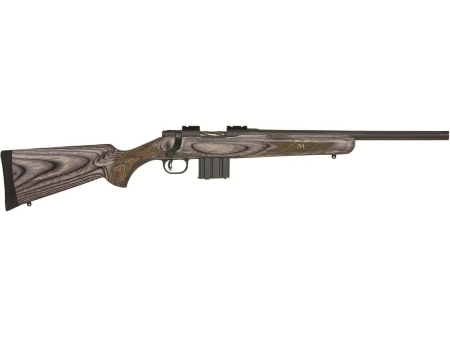 Mossberg MVP Predator Rifle Fluted Heavy Barrel Threaded Matte Laminate