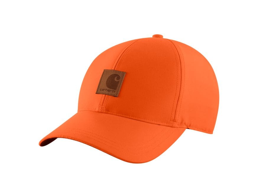 Carhartt Men's Upland Cap Polyester Hunter Orange One Size Fits All