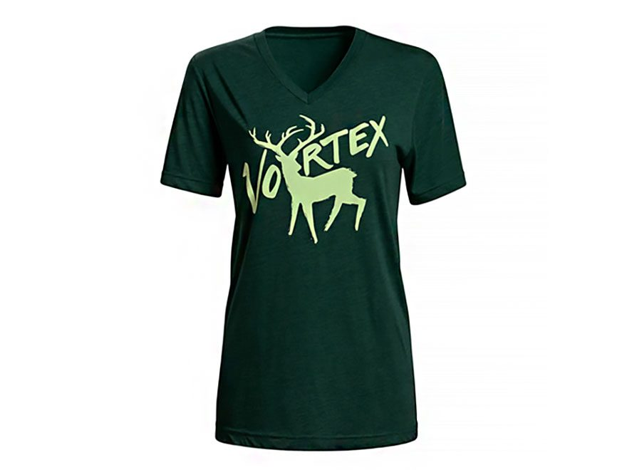 Vortex Optics Women's Emerald Elk T-Shirt Short Sleeve Poly/Cotton/Rayon