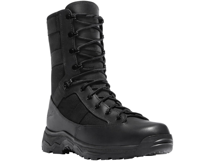 "Danner Reckoning 8"" Tactical Boots Leather/Nylon Black Men's"