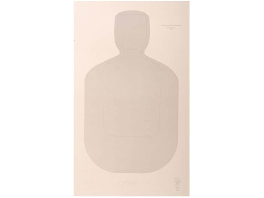 """NRA Official Training and Qualification Targets Law Enforcement TQ-22 12"""" x 20"""" Paper P..."""