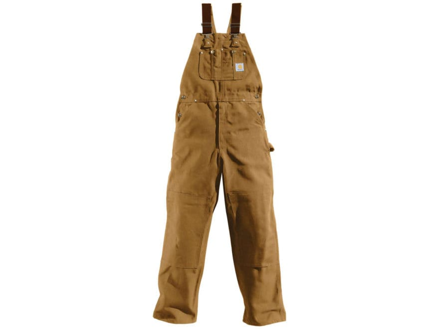 Carhartt Men's Duck Bib Overalls Unlined Cotton