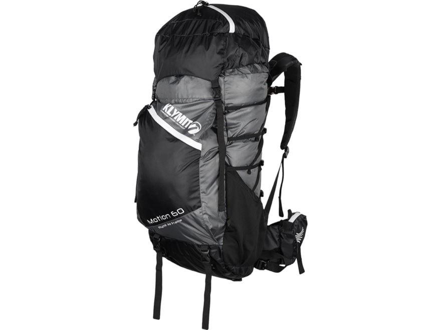 Klymit Motion 60 Backpack White and Black