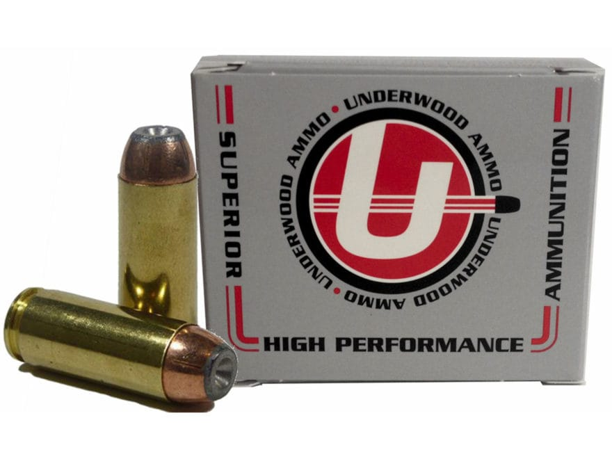 Underwood Ammunition 50 Action Express 325 Grain Bonded Jacketed Hollow Point Box of 20