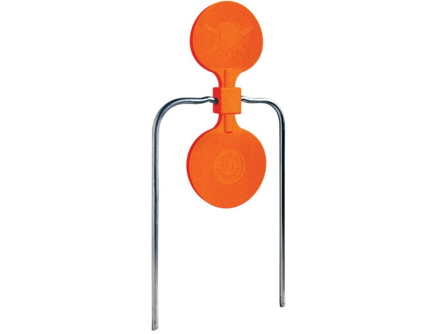 "Do-All Impact Seal Self Healing Bullet Pong 7"" Spinning Target Ballistic Polymer Orange"