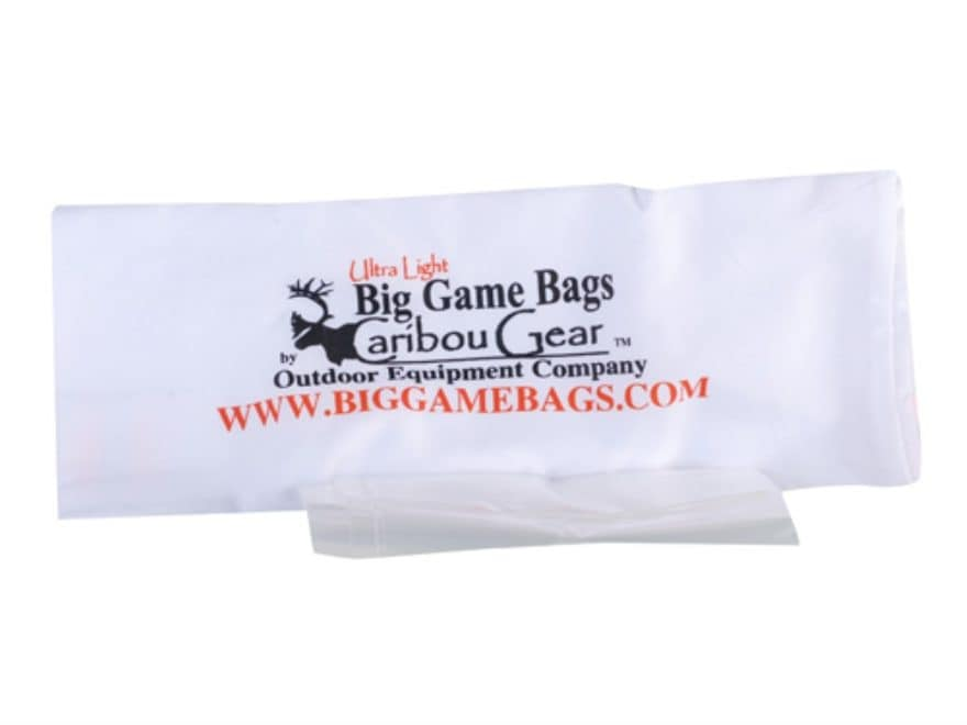 "Caribou Gear Camp Game Meat Bag 20"" x 12"" Synthetic Blend White"