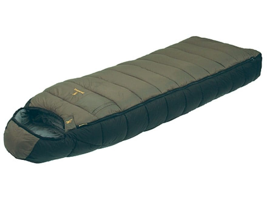 Browning Mckinley Sleeping Bag 36 X 90 Nylon Clay